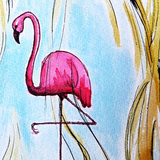 ik flamingo feat